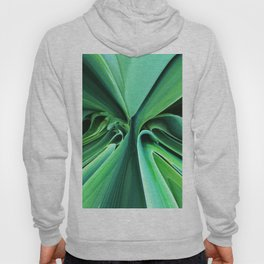 526 - Abstract plant design Hoody