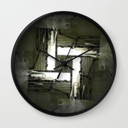 Tether type pave wish. Wall Clock