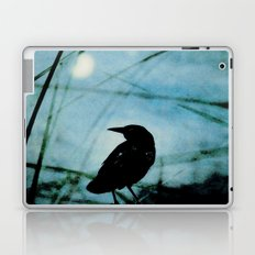 The Raven and the Orb Laptop & iPad Skin
