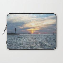 Sunset at Long Beach Island Laptop Sleeve