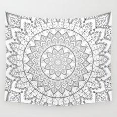 Lace Mandala Wall Tapestry