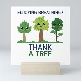 Thank A Tree Mini Art Print