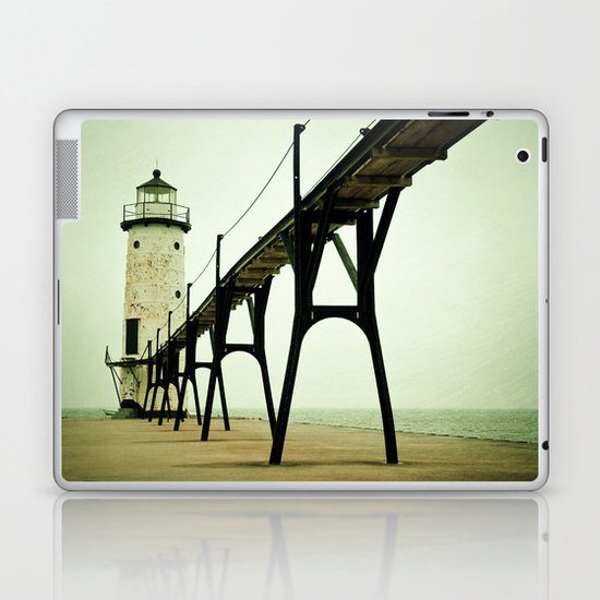 Manistee Light Laptop & iPad Skin