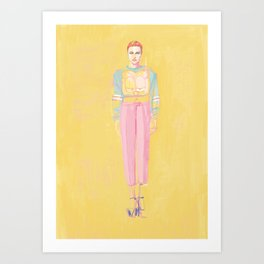 fashionistish  Art Print