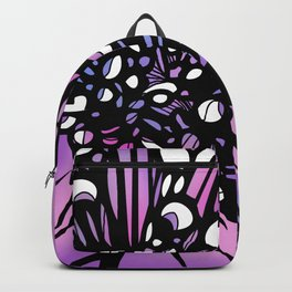 Purple Lily Girl Backpack