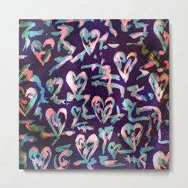Wild At Heart (pastel) Metal Print