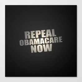 Repeal Obamacare Now Canvas Print