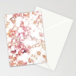 Rainbow Marble Texture Stationery Cards