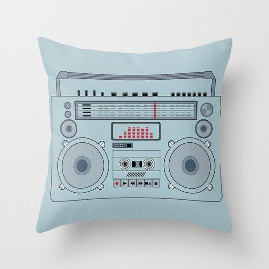 boombox  v1 Throw Pillow