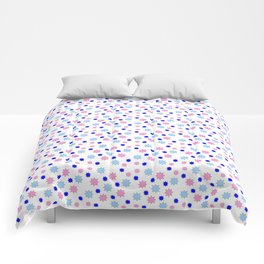 stars 14 blue Comforters