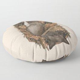 Friend Fox, Foe Fox Floor Pillow