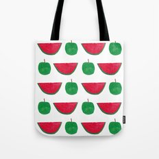 Watermelon & Apple Tote Bag
