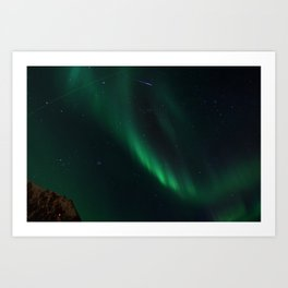 Night-Time Action in the Northen Hemisphere Art Print