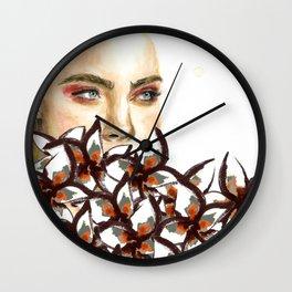 Supermodel Cara Wall Clock