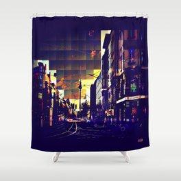 Berlin Art Shower Curtain