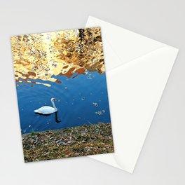 Reflector Swan I Stationery Cards