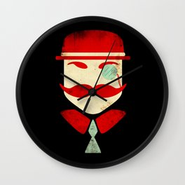 Monocle Man Wall Clock