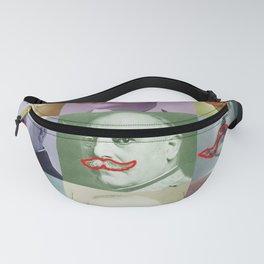 Moustaches Fanny Pack