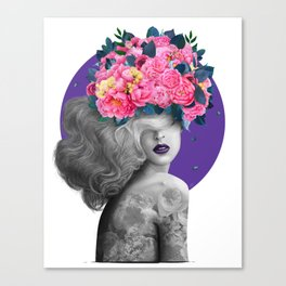 Ultraviolet dreams Canvas Print