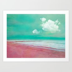 BEACHSCAPE Art Print