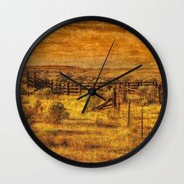 Summer Range Wall Clock