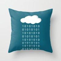 wwe Throw Pillows featuring BinaRain by eARTh