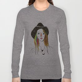 Lorena - SuperFriends Collection Long Sleeve T-shirt