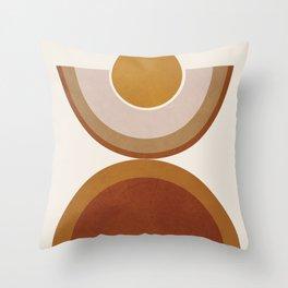 Modern Geometry Throw Pillow