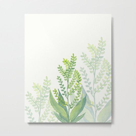 Botanical vibes 06 Metal Print