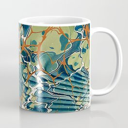 Old Marbled Paper 05 Coffee Mug