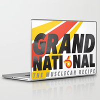 the national Laptop & iPad Skins featuring Grand National by CynthiaLeduc