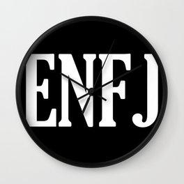 ENFJ Personality Type Wall Clock