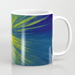 Green yellow splash Coffee Mug