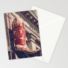 Broadway Boots - Nashville Stationery Cards