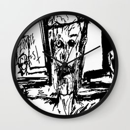 Zombie Christ Wall Clock