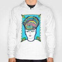 headdress Hoodies featuring Headdress by G.L.BEANS