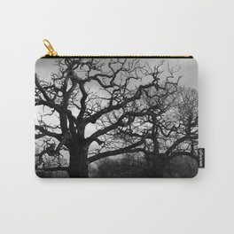 Eerie winter trees Carry-All Pouch