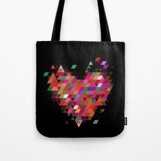 Heart1 Black Tote Bag