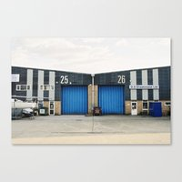 industrial Canvas Prints featuring Industrial by TomP