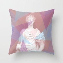 Geometric Goddess Throw Pillow