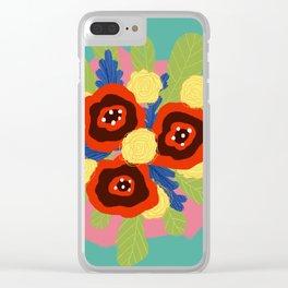 Bouquet #1 Clear iPhone Case