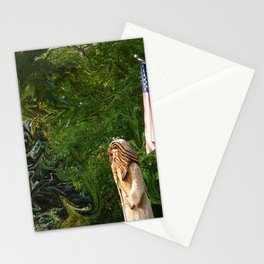 Everyone Cheers As The Wizard Walks By Stationery Cards