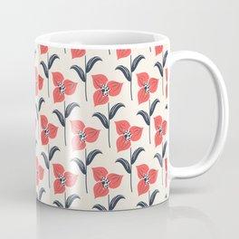 Beautiful Flower Pattern Art Design Coffee Mug