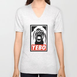 YEBO-UWS Unisex V-Neck
