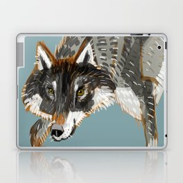 Totem Dark European Wolf Laptop & iPad Skin