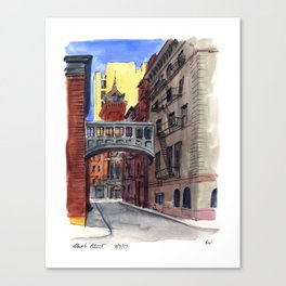 Staple Street Canvas Print