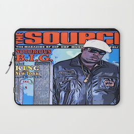 The source cover number 70 The Notorious B.I.G. Laptop Sleeve