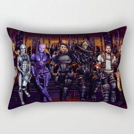 Mass Effect - Team of Awesomness Rectangular Pillow