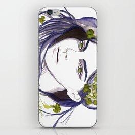 Emerald Eyes iPhone Skin