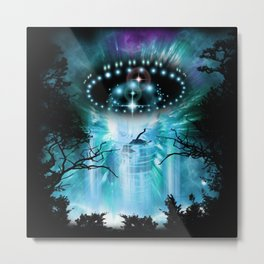 Alien Invasion Metal Print